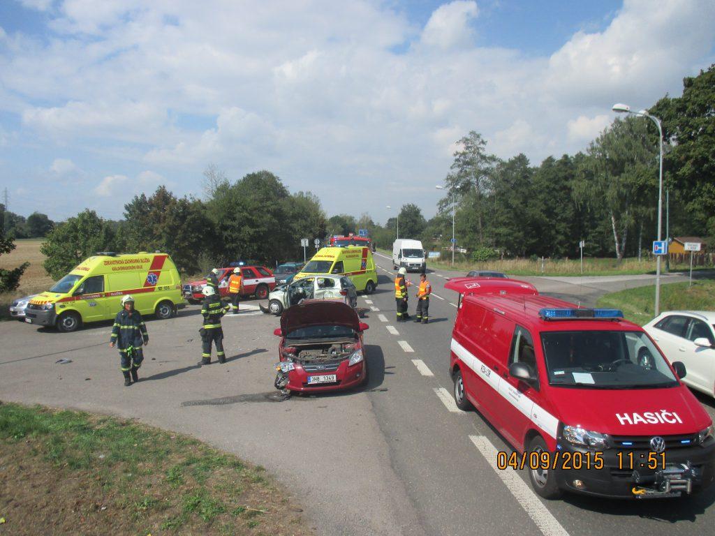 Dopravní nehoda se zraněním