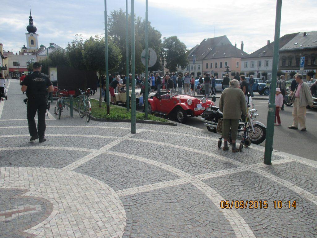 Veteráni na Masarykově náměstí