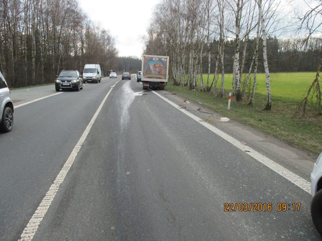 Dopravní nehoda 3 vozidel (VIDEO)