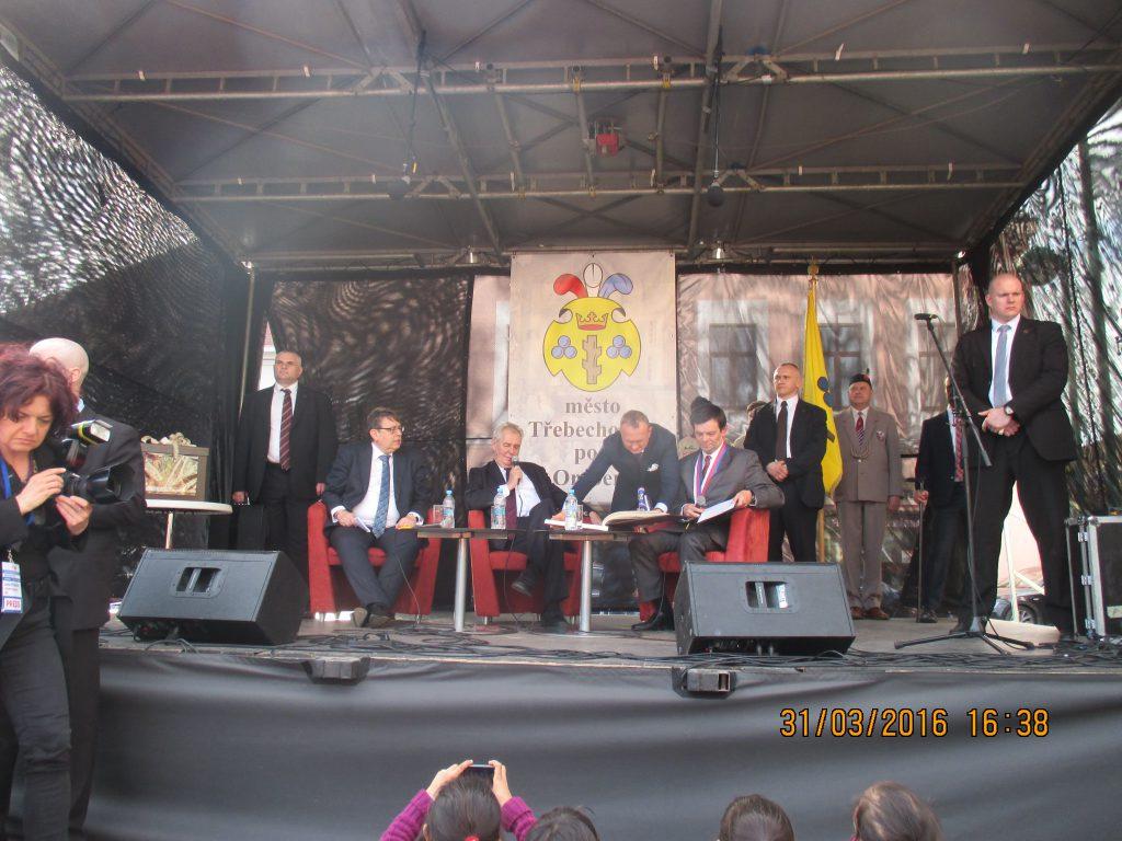 Návštěva prezidenta České republiky