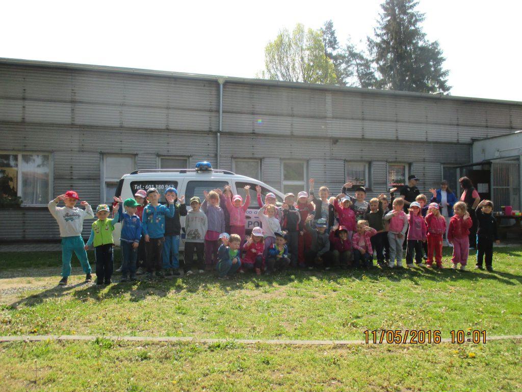Návštěva strážníků v Mateřské školce