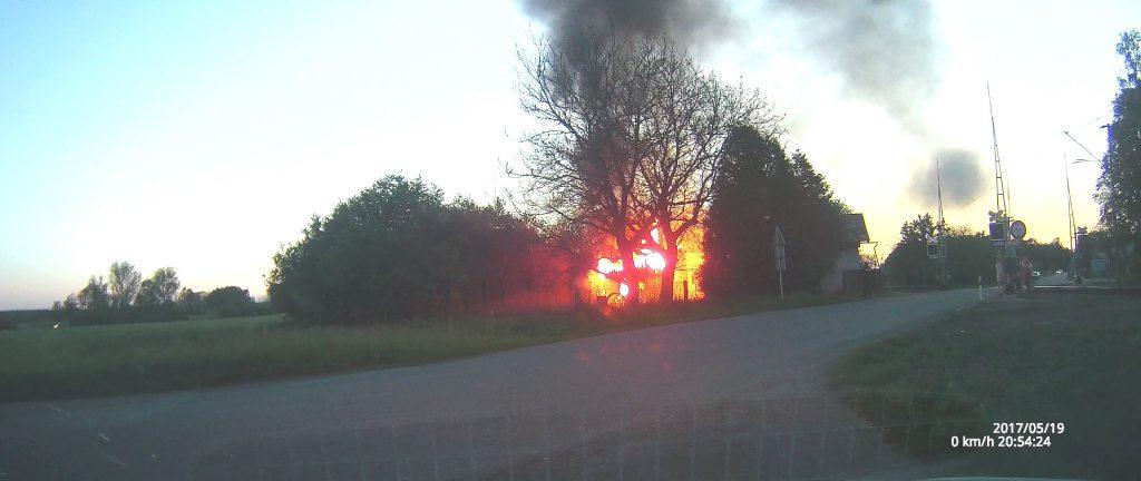 Požár nízké budovy