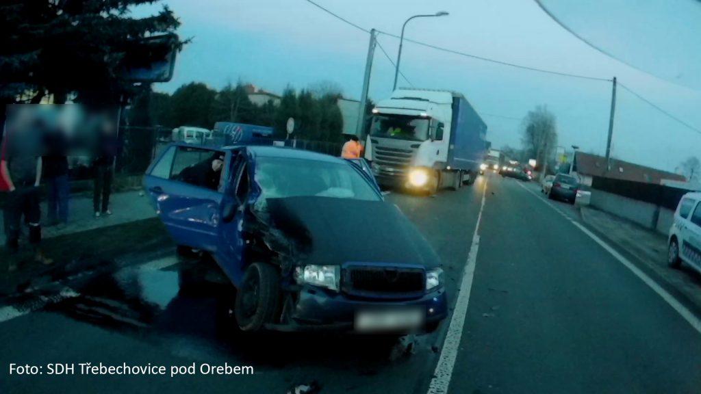 Dopravní nehod v Nepasicích