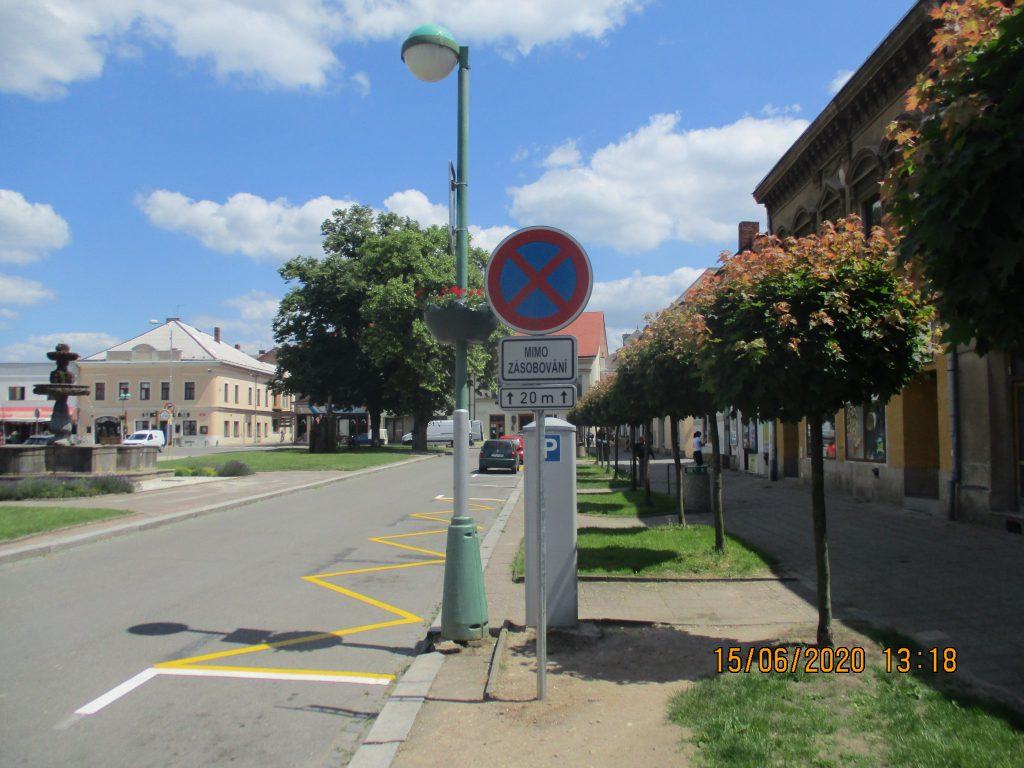 Změna dopravního značení!